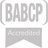 BABCP Accredited logo